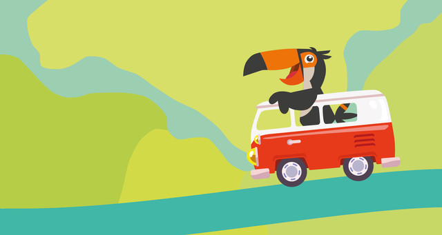 Toucan Road trip package